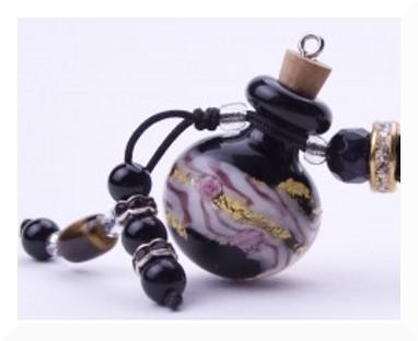 glass cremation pendant
