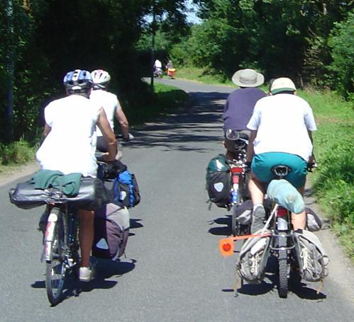 selon nos statistiques, un cyclo campeur sur deux porte un casque