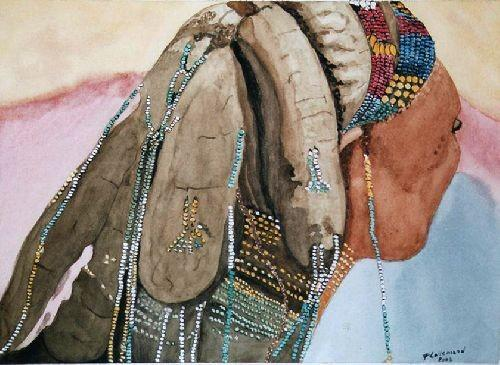Coiffure Masai