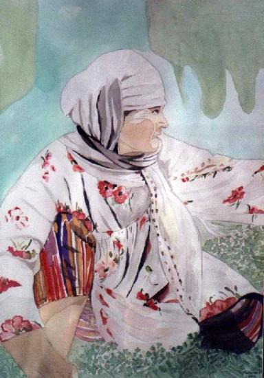 Femme Kazak