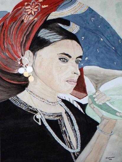 Femme du Yémen