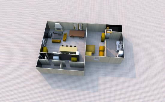 ma premiere cr ation de maison. Black Bedroom Furniture Sets. Home Design Ideas