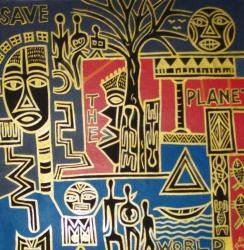 Peinture Koko Komegne