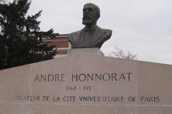 buste d' André Honnorat