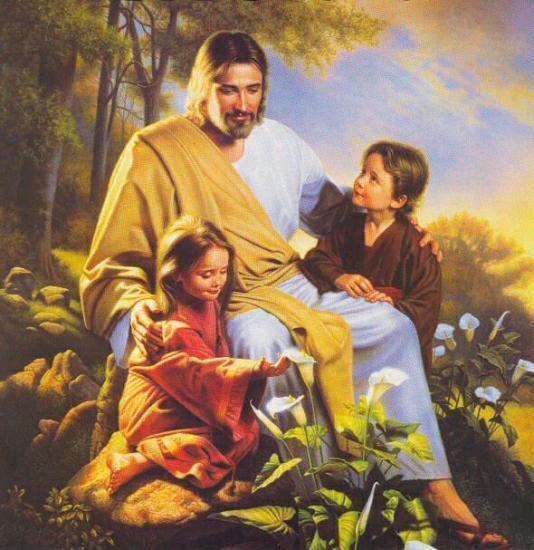 """""""Neuvaine d' Exorcisme avec Saint Benoït"""" Jsus-et-les-enfants"""