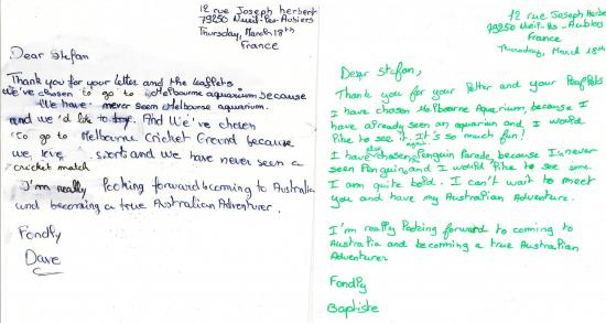 Letter to my australian host family the teachers blog letter to my australian host family expocarfo Image collections
