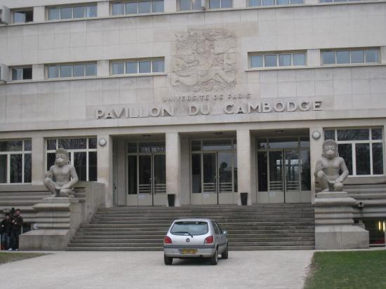 Pavillon du Cambodge - Cité Universitaire