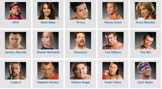 Roster de Monday Night Raw