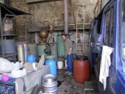 l'Alambic des bouilleurs de cru d'Autignac