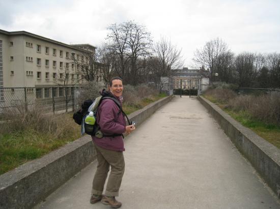 Annick à la Cité Universitaire