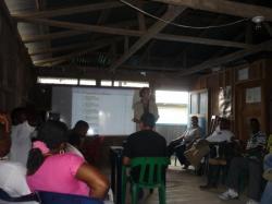 Rio Sucio - Presentacion frente a ASCOBA