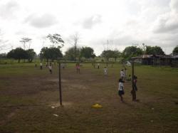 Villa Nueva - partido de futbal
