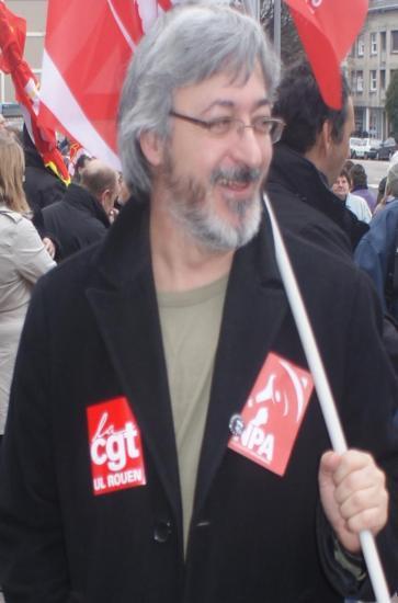 José Marin, syndicaliste exclu de la CGT