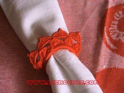 Rond de serviette au crochet