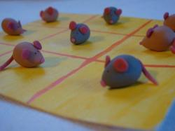 jeu de morpion souris