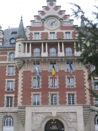 Fondation Biermans Lapôtre - Cité Universitaire à Paris