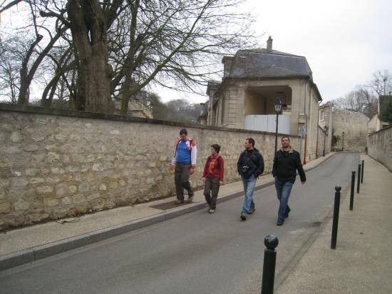 Richard, Cécile, Bastien, Carlos, à Nointel