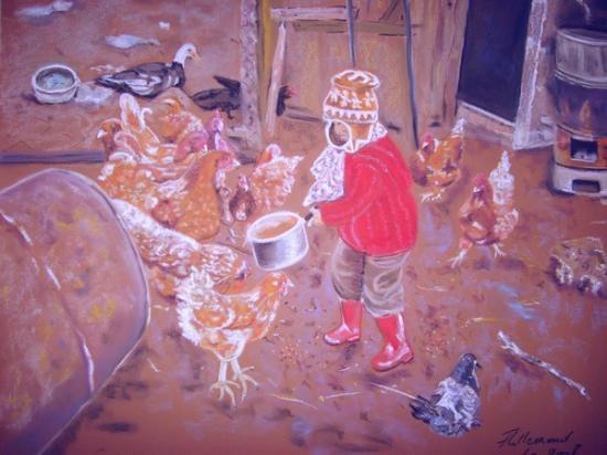 Les poules rousses