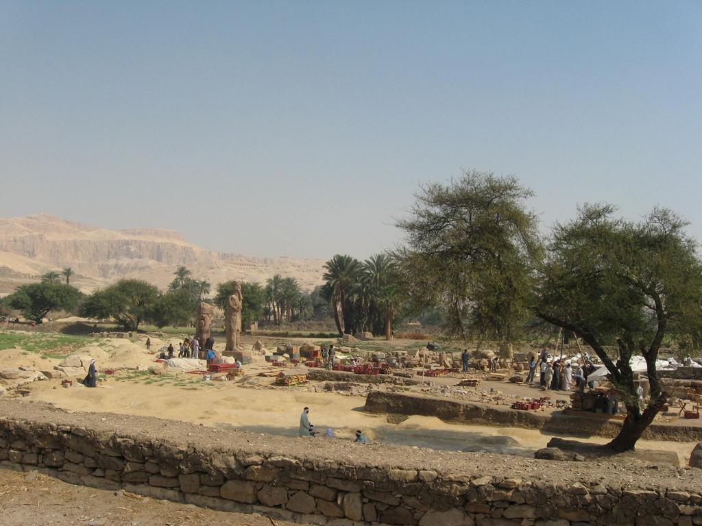 Mars 2010 - Temple d'Aménophis III