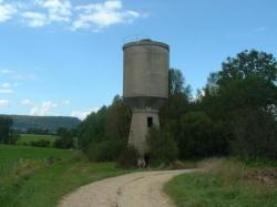 chateau d'eau gare enterrée Peuvillers