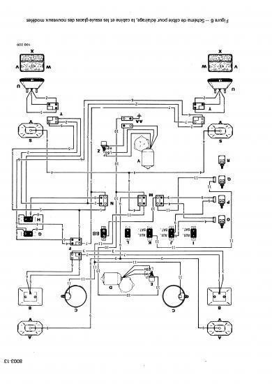 circuit electrique case 580 g