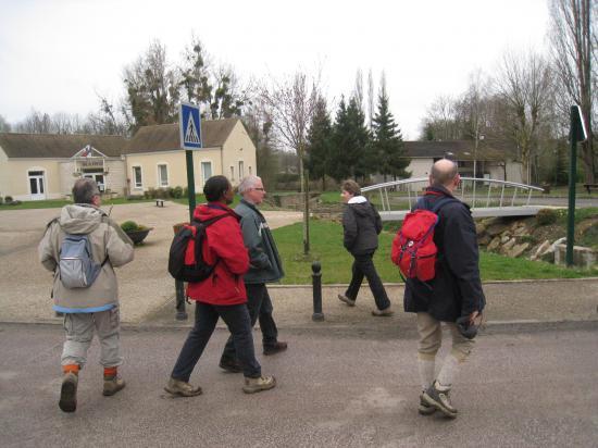 Le groupe à Montgeroult