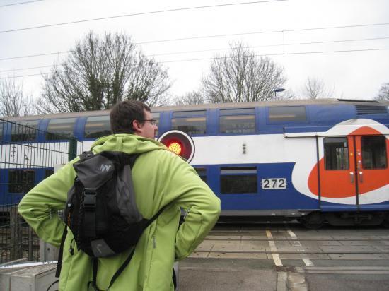 Train à Boissy L'Aillerie