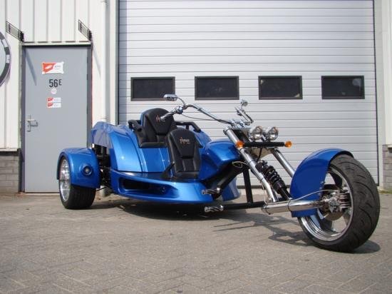 trike courage made in holland