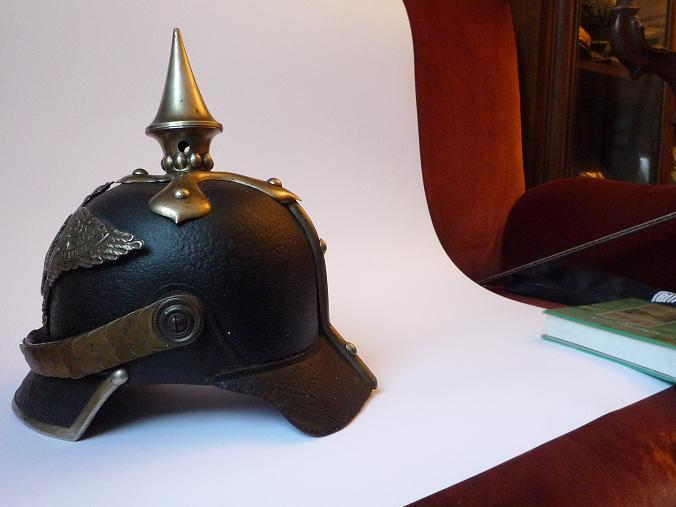 casque à pointe génie 1860