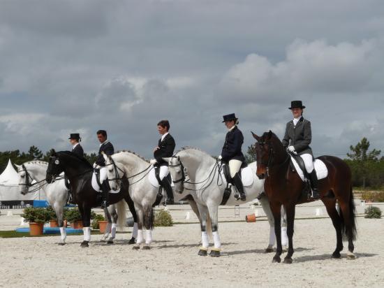 De gauche à droite: Maria Caetano, Daniel Pinto, Nuno Vicente, Fiona Jones, Claire Monné