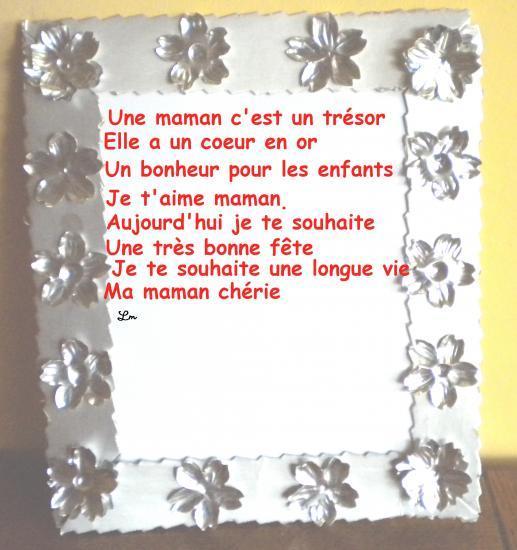 Texte Et Poemes Pour Les Mamans