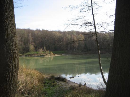 Le Lac Bleu en forêt de Carnelle