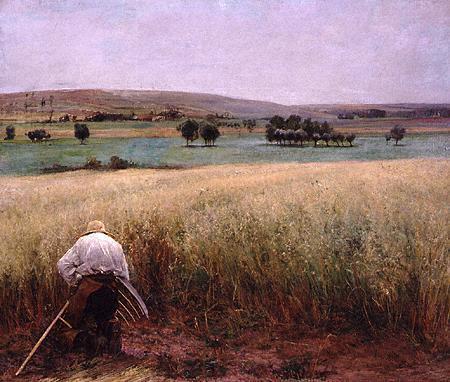 Jules Bastien Lepage Les blés