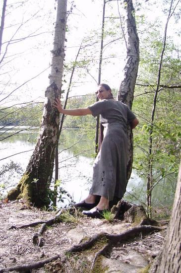 Annick au Petit Etang - Forêt de Carnelle - mai 2008