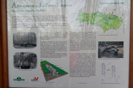 Info sur la Pierre Turquaise en forêt de Carnelle
