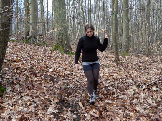 Nathalie en forêt de Carnelle