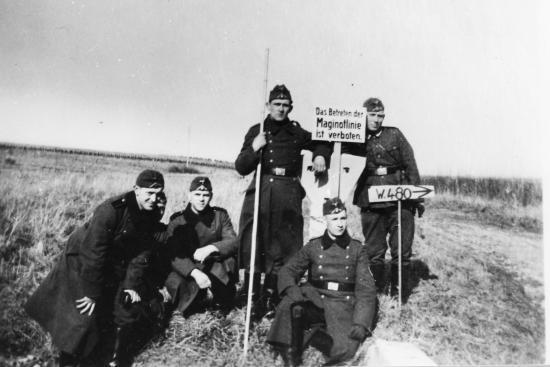 La Ferté ,janvier 1941