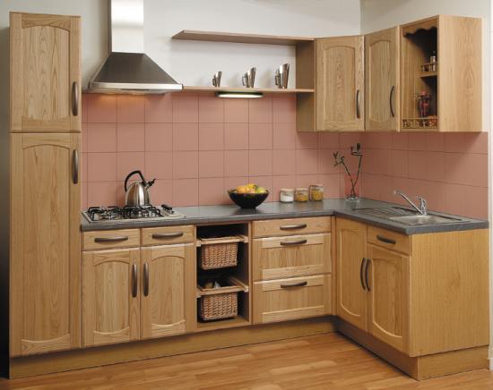 une cuisine intégrée pas chère, design, actuelle, sur mesure - Cuisine Fabrication Francaise