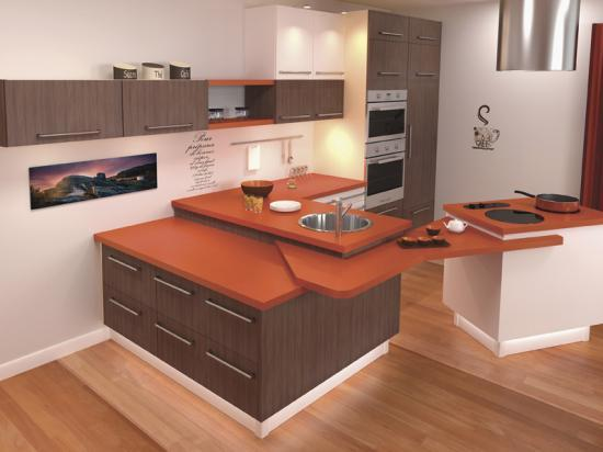 Une cuisine int gr e pas ch re design actuelle sur mesure for Prix cuisine integree