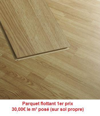 parquet flottant 1er prix. Black Bedroom Furniture Sets. Home Design Ideas
