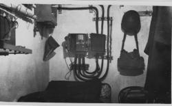 chambre du Lt TAYOT,Obs Artillerie