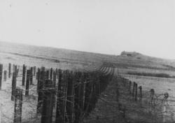 B1,rails,vu de case Frénois,au sud.