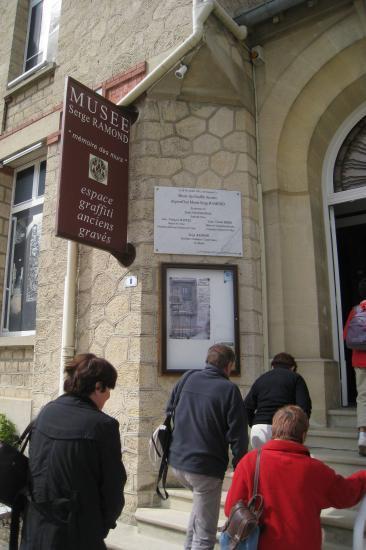 Entrée du Musée Serge Ramond