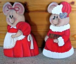 Mère et Père Noël...