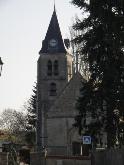 église St Martin à Villers-en-Arthies
