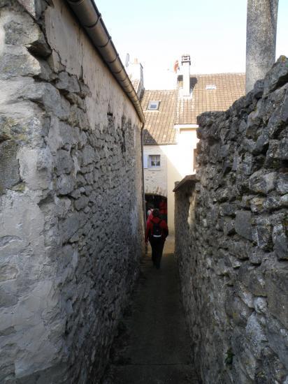 Passage étroit à Vétheuil