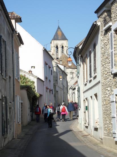 Rue du Moutier à Vétheuil