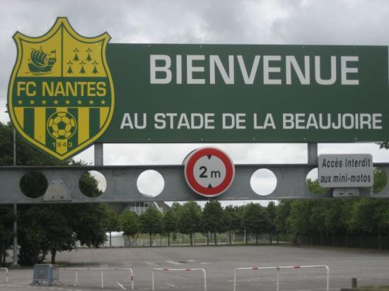 Nantes stades - Porte de la beaujoire nantes ...