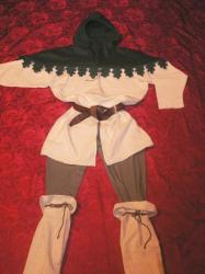Vêtement médiéval homme