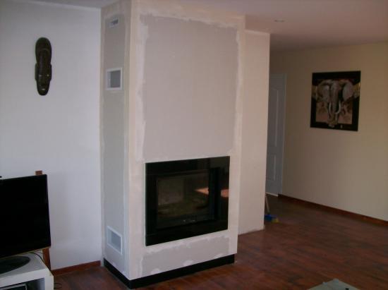 cheminee bois avec insert